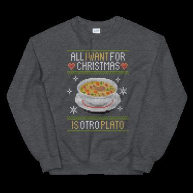 Otro Plato Unisex Sweatshirt