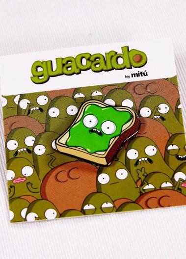 Guacardo Toast Pin